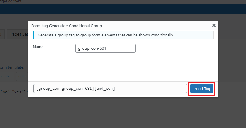 cf7 conditional tag